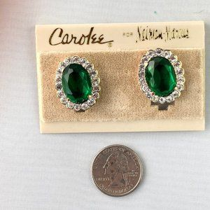 Vintage Carolee for Neiman Marcus Clip Earrings